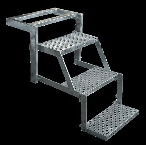 Wonderlijk Opklapbare trappen 3585 - 3705 - 4480 - Transport Load Systems BO-12