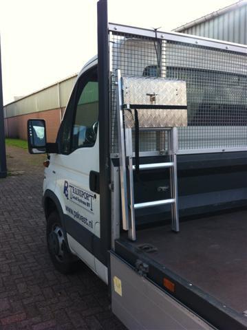 Welp Aluminium vrachtwagen trapje - Transport Load Systems FD-51