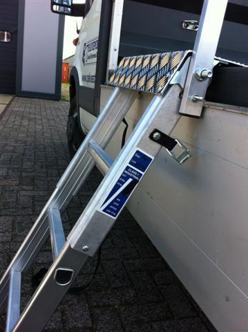 Verrassend Aluminium vrachtwagen trapje - Transport Load Systems PS-65